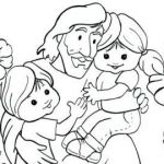 44 Brilliant Photos Of Jesus With Children Coloring Page