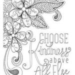 Kindness Coloring Sheets Beautiful 295 Best ✐ Words Colouring Pages for Adults Images In 2019