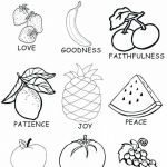 Kindness Coloring Sheets Inspired Awesome Fruit Coloring Page 2019