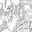 Kitten Coloring Book Beautiful Adult Color Page