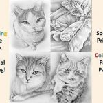 Kittens Coloring Pages Awesome Elegant Cat with Kitten Coloring Pages – Lovespells
