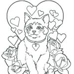 Kittens Coloring Pages Best Of Puppy and Kitten Coloring Pages Awesome Colour In Kitten Coloring