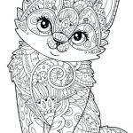 Kitty Cat Coloring Pages Printable Inspiring Cats to Color – Nightcodefo