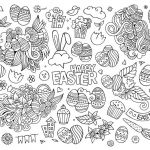 Large Coloring Pages for Adults Elegant Coloring Book 58 Outstanding Adult Coloring Pages Easter Free