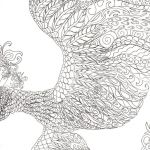 Large Coloring Pages for Adults Inspiration Coloring Big Bird Coloring Pages Printable Free Elegant Adult Birds