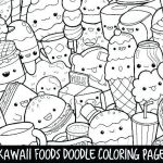 Large Print Coloring Pages for Adults Brilliant Mexican Taco Junk Food Coloring Page Pages Halloween Scary for Kids