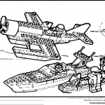 Lego City Coloring Pages Beautiful Lego Plane Coloring Pages