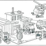 Lego City Coloring Pages Exclusive Lego City Coloring Page – Evilpenguin