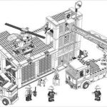 Lego City Coloring Pages Inspirational Lego Fire Station Coloring Pages Google Search