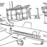 Lego City Coloring Pages Inspirational Lego Plane Coloring Pages