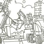 Lego City Coloring Pages Pretty Construction Coloring Pages Coloring Page