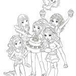 Lego Friends Coloring Book Awesome Lego Friends Coloring Pages for Girls Barbie