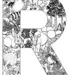Lettering Coloring Pages Exclusive Alphabet Animal Coloring Pages R Pug Love