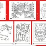 Lettering Coloring Pages Exclusive Colouring Sheets Christmas Ks1 Primary Resources