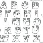 Lettering Coloring Pages Inspiration Block Letter S Template
