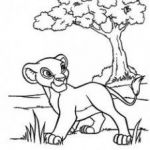 Lion Coloring Page Inspiring Lion King Coloring Pages