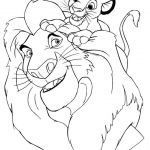 Lion King Colourings Inspirational Stunning Coloring Pages Lion for Kindergarden Picolour