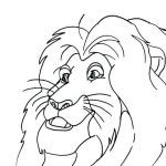 Lion King Colourings New Lion King 2 Vitani Coloring Pages 7 Pics Lion King 2 Vitani and