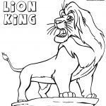Lion King Colourings Unique Lion King Coloring Pages