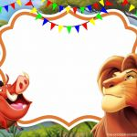 Lion King Pictures to Print Excellent Simba Lion King Invitation Template Perfect for Parties In the Yard