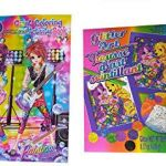 Lisa Frank Coloring Books Amazing Amazon Lisa Frank Coloring Book and Glitter Art Kit Bundle