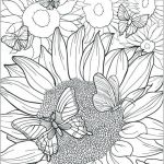 Lisa Frank Coloring Books for Adults Best Of Sunflower Coloring Page Fabulous Flower Coloring Pages for Adults