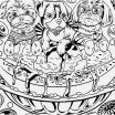 Lisa Frank Coloring Books for Adults Unique the Perfect Difficult Coloring Pages for Teenagers