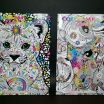 Lisa Frank Coloring Elegant Adult Coloring Books Lisa Frank Color Me Stay Calm Relax Art therapy