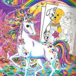 Lisa Frank Tiger Inspiring Lisa Frank Color and Trace Book with Stand Up Characters Buy Lisa