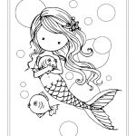 Little Mermaid Printables Excellent 19 Realistic Mermaid Coloring Pages Download Coloring Sheets