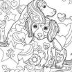 Littlest Pet Shop Coloring Pages Awesome Littlest Pet Shop Coloring Pages to Color Line for Free Beautiful