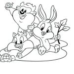 Looney Tunes Coloring Book Inspiration Looney Tunes Baby Coloring Pages