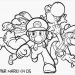 Mairo Coloring Pages Best New Mario and Luigi Coloring Page 2019