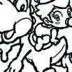 Mairo Coloring Pages Inspiring Free Mario Coloring Pages Best Mario Riding Yoshi Coloring Page