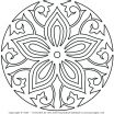 Mandala Coloring Pages Free Printable Awesome Coloring Pages Line Mandalas Mandala Free Printable Colo