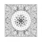 Mandala Coloring Sheets Pdf Inspired 43 Printable Adult Coloring Pages Pdf Downloads