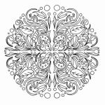 Mandalas to Color Pdf Awesome Difficult Mandala Coloring Pages