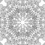 Mandalas to Color Pdf Beautiful Best Easy Flower Mandala Coloring Pages – Doiteasy