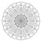 Mandalas to Color Pdf Best Intermediate Mandala 12 Free Colouring Pages for Adults