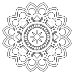 Mandalas to Color Pdf Inspirational Free Printable Mandala Coloring Pages