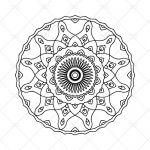 Mandalas to Color Pdf Marvelous Mandala Coloring Page N 1 Instant Download Printable Pdf
