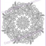 Mandalas to Color Pdf Wonderful Pinterest