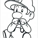Mario Coloring Pages to Print Awesome Mario Coloring Page