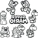 Mario Coloring Pages to Print Best Of Mario Bros Coloring Pages – Kathrynkayefo