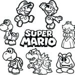 Mario Coloring Pages to Print Best Of Mario Kart Coloring Page – Hanjiefo