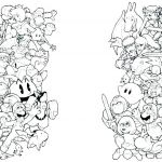 Mario Coloring Pages to Print Fresh Mario Bros Coloring Pages – Kathrynkayefo