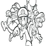 Mario Coloring Pages to Print Fresh Mario Kart 7 Printable Coloring Pages – Johnrozumart