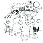 Mario Coloring Pages to Print Fresh Printable Coloring Pages for Boys Lovely Super Mario Bros Coloring