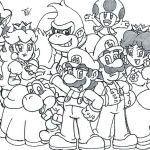 Mario Coloring Pages to Print Inspirational Mario Odyssey Coloring Pages at Getcolorings