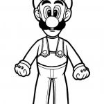 Mario Coloring Pages to Print Unique Free Printable Luigi Coloring Pages for Kids